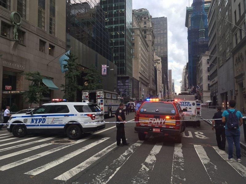 Rock Climbing Photo: Trump Tower Suction Route Closed due to glassy pol...