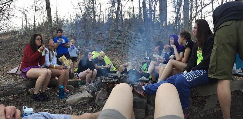 UNK's spring 2015 outdoor adventures crew
