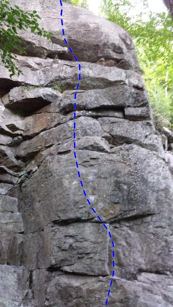 Rock Climbing Photo: Slapstick 5.11d