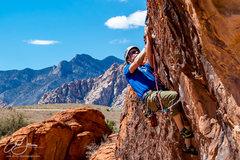 Rock Climbing Photo: Making the clip