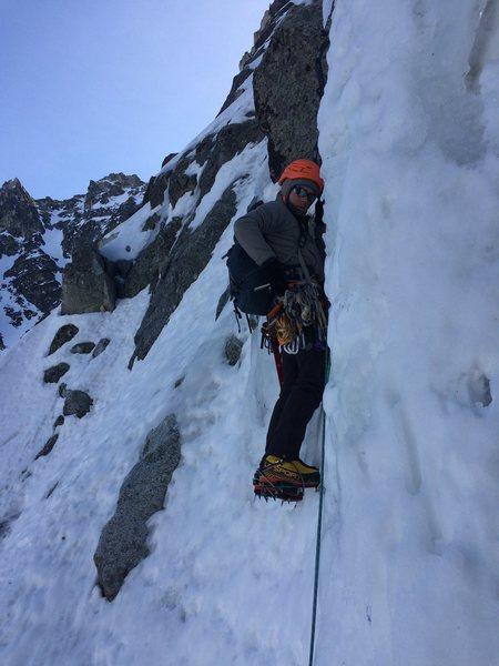 Rock Climbing Photo: The start of P2