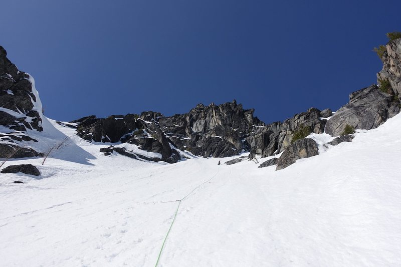 "Rock Climbing Photo: The ""Hidden Couloir"""