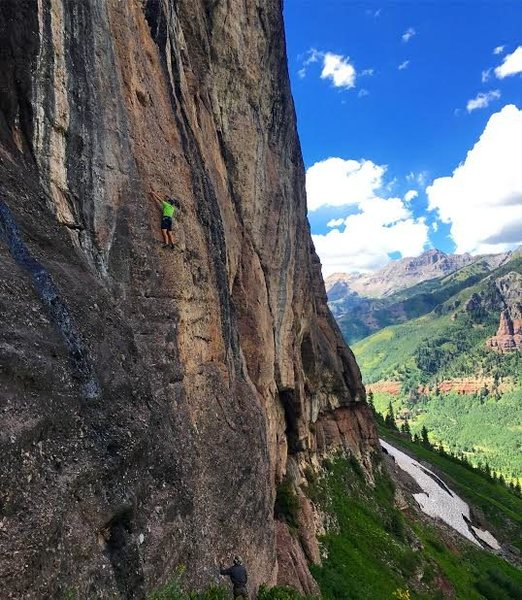 California Route, Falls Walls, Telluride.