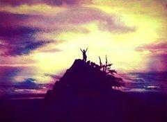 Rock Climbing Photo: Summit - Wolf Rock  August 18, 1979
