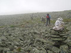 "Rock Climbing Photo: Crossing the ""Lawn"""