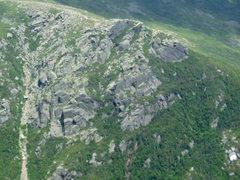 "Rock Climbing Photo: More ""Presidential Rock"" - Taken from Bo..."