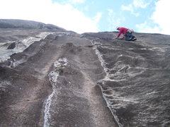 Rock Climbing Photo: Pitch 3 I think