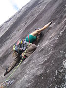 Rock Climbing Photo: KP on pitch 2