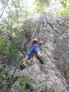 Rock Climbing Photo: Pelican Pillars route setting and exploring, remov...