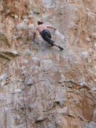 Rock Climbing Photo: Hermann Gollner, Rifle pioneer, on Fist!