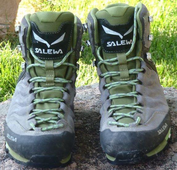 Rock Climbing Photo: Salewa Mountain Trainer Mid GTX