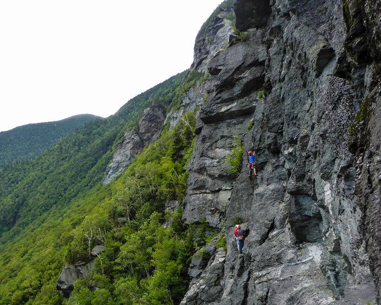 Rock Climbing Photo: Emmett lead P3.