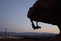 Rock Climbing Photo: Evening fooling around on Warrior Man
