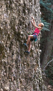 Rock Climbing Photo: Better holds after the this start Taking the Bulle...