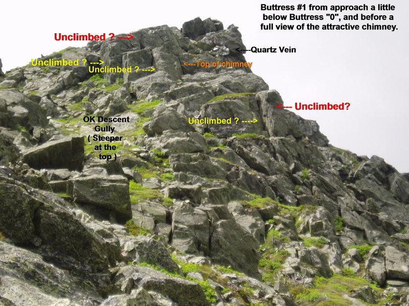 Rock Climbing Photo: Buttress #1