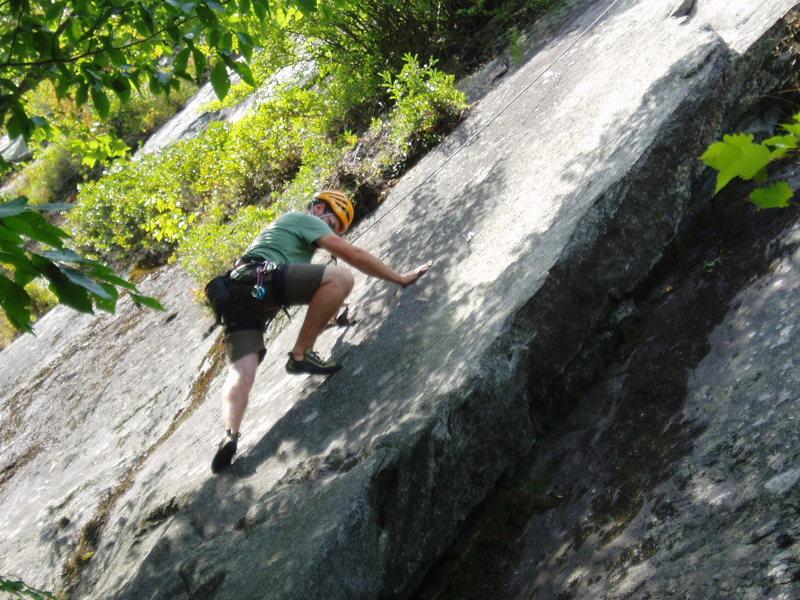 Rock Climbing Photo: No Skating Here - Josh LeMay sticks to Skate-y Cat...