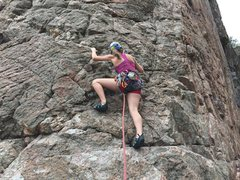 Rock Climbing Photo: I thought this was one of the better routes at the...