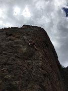Rock Climbing Photo: Getting higher on Bobby and the Bosch. Liked this ...