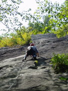 Rock Climbing Photo: The really nice middle section