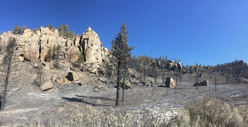 Rock Climbing Photo: Burn