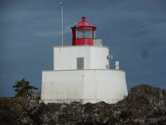 Rock Climbing Photo: The lighthouse at Ucluelet.