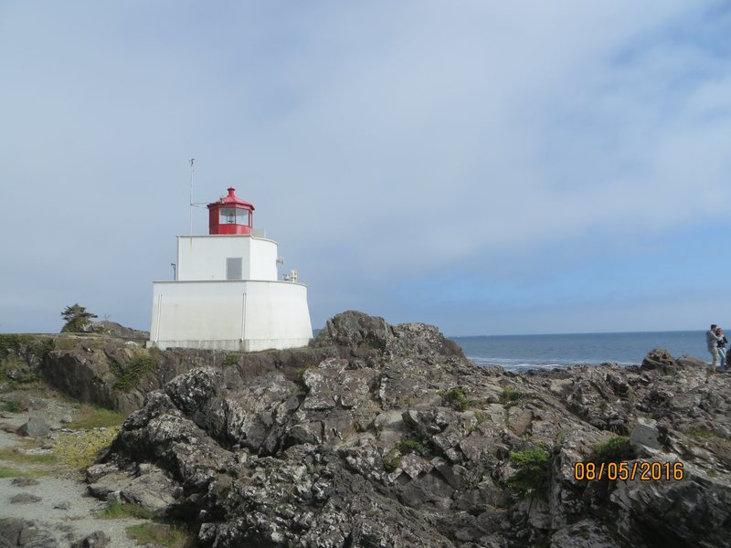 Rock Climbing Photo: The Amphitrite Lighthouse and rocky beach.