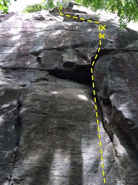 Rock Climbing Photo: Pegasus sart