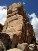 Rock Climbing Photo: Shirtsleeve Rock South Face