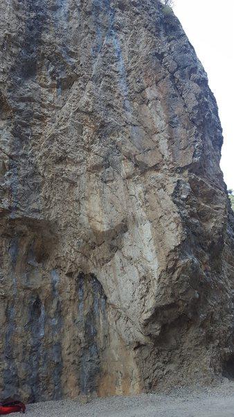 Rock Climbing Photo: Lower portion.