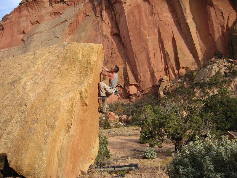 Rock Climbing Photo: The Triangle, Right Arete