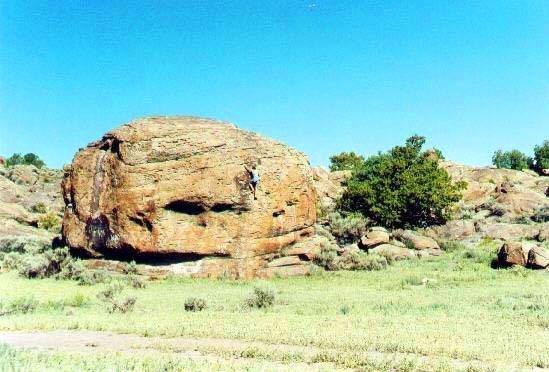 Rock Climbing Photo: The Whiffle Ball