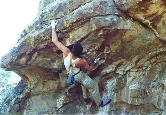 Rock Climbing Photo: Rabbit Valley Overhang