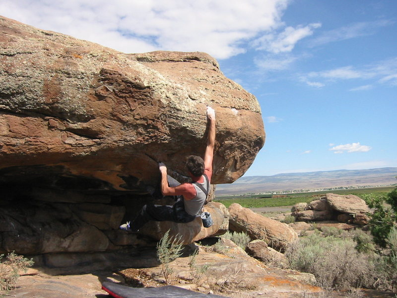 Rock Climbing Photo: Paleoman Roof