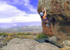 Rock Climbing Photo: The Brain V6
