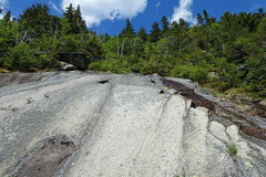Rock Climbing Photo: Daniel Webster Highway: Top of the cliff and great...