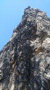 Rock Climbing Photo: Sunset spire