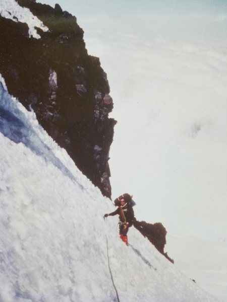 Rock Climbing Photo: Liberty Ridge, MT Ranier