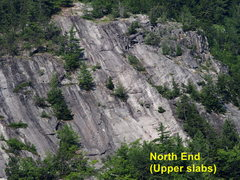 Rock Climbing Photo: North End (upper slabs)