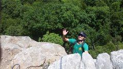 Rock Climbing Photo: smile !!