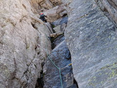 Rock Climbing Photo: A fun scramble except it's always wet and cold...