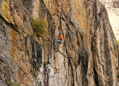 Rock Climbing Photo: RN on the Watchtower, 11a.