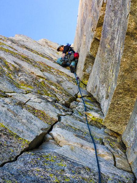 Rock Climbing Photo: North Arete Matterhorn Peak, 5.7