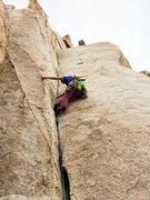 Rock Climbing Photo: Great finger crack.
