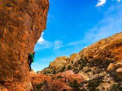 Rock Climbing Photo: Fast moving train.