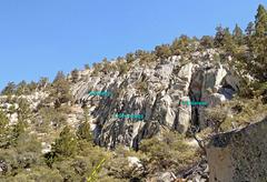 Rock Climbing Photo: Grimsel - north sub-area of Rush climbing area -- ...