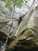 Rock Climbing Photo: Plugging along
