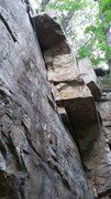 Rock Climbing Photo: Profile view