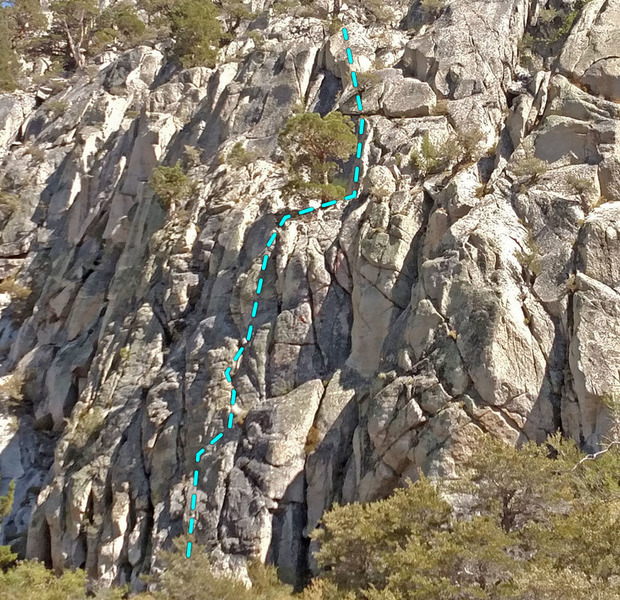 Rock Climbing Photo: Gerstenegg sector (central) of the Grimsel area: ....