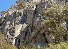 Rock Climbing Photo: lower right side of Gerstenegg sector