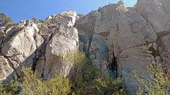 Rock Climbing Photo: Eldorado sector (West side) of Grimsel area -  ove...
